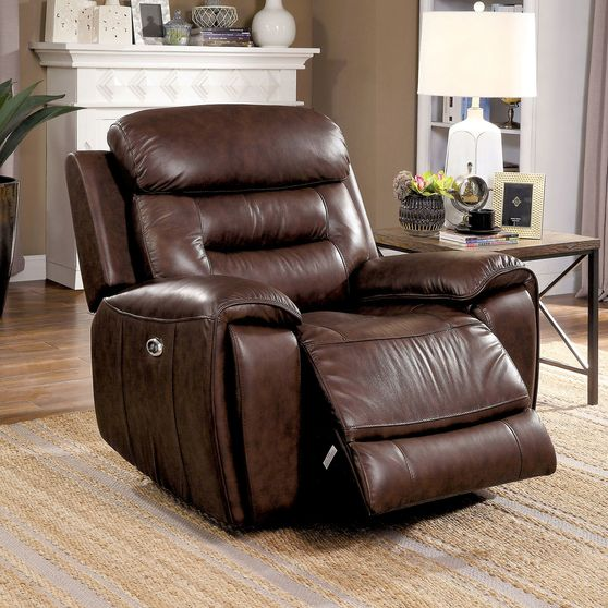 Brown Transitional Power Chair