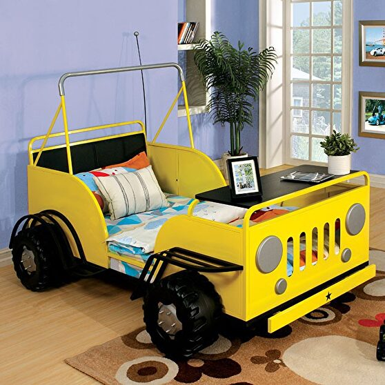 Rover design sturdy metal construction bed
