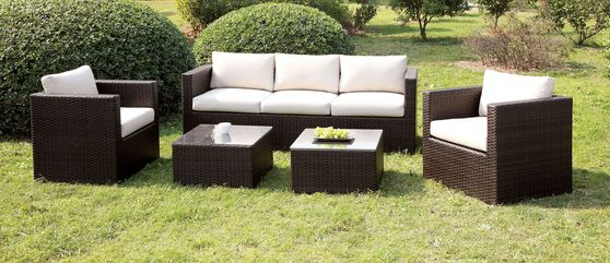5PCS Outdoor Furniture Set in Ivory