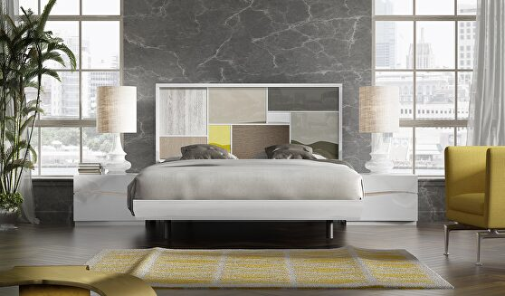 Spain-made special order contemporary bed