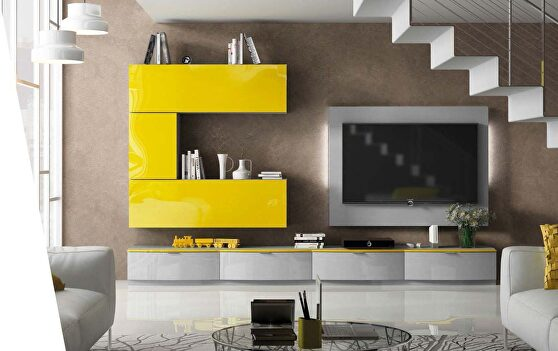 Contemporary TV / wall unit from Spain