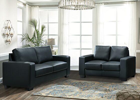 Pvc quality casual style living room sofa