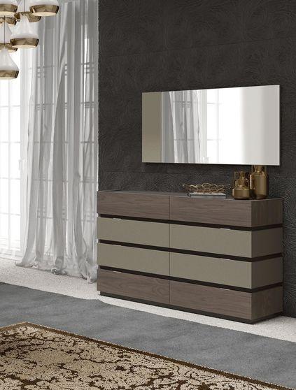 High glossy modern stylish dresser