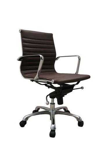 Modern office chair in espresso