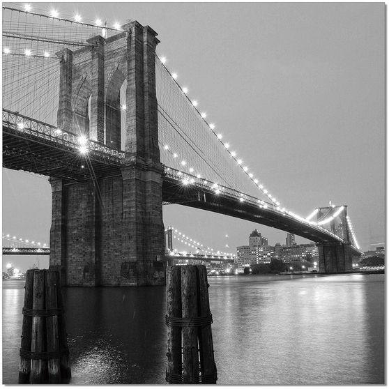Brooklyn bridge II premum acrylic wall art