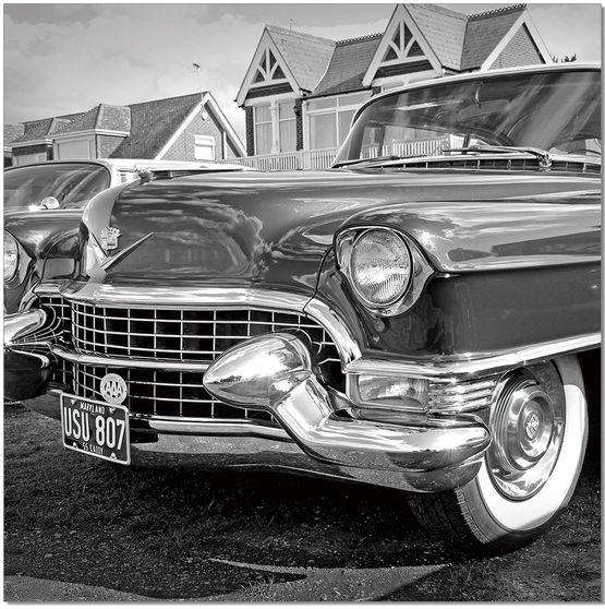 Classic car II premum acrylic wall art