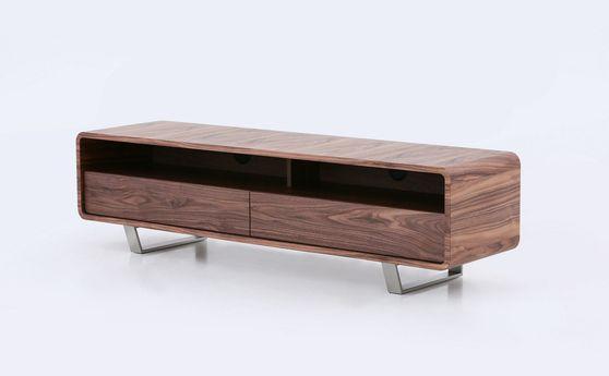 Warm walnut modern retro style TV-stand