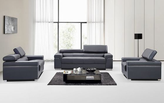 Italian 100% leather sofa/loveseat/chair set