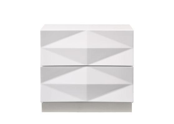 White contemporary night stand