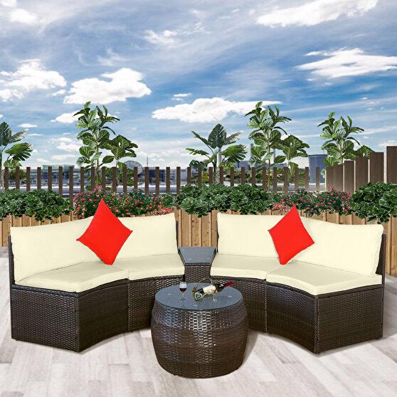 4-piece patio furniture sets, sectional furniture wicker sofa set