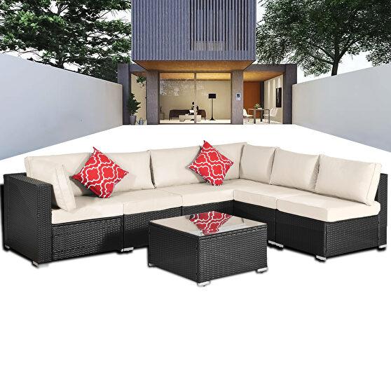 Seven piece sofa suit
