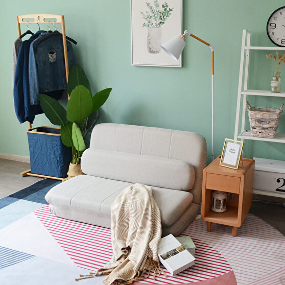 Floor chair adjustable foldable sofa bed rest room floor mattress recliner sofa and pillow