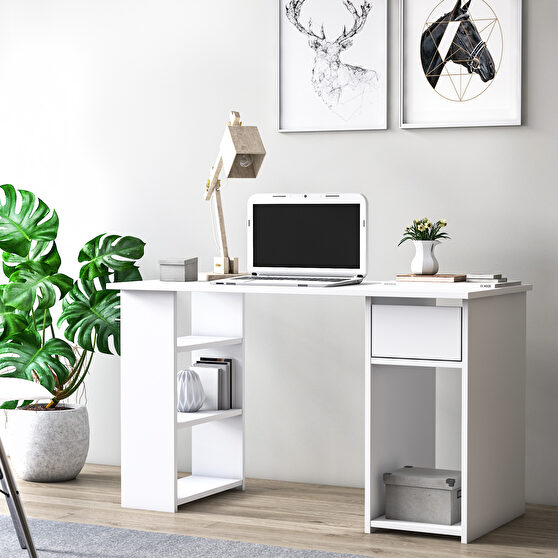 Office desk modern contemporary with storage