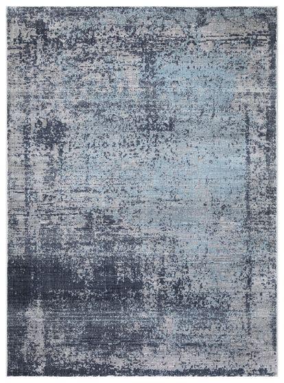 Mirage 7'10 X 10'2'  Modern & Contemporary Abstract Navy/Gray area rug