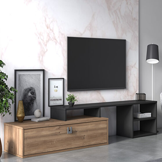 Modern extendable tv stand / display unit
