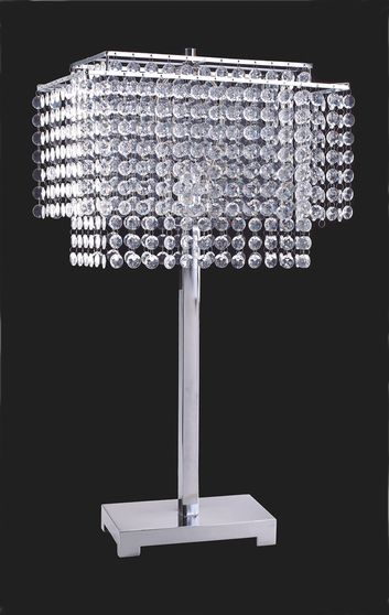 Glass dripping icicle lamp