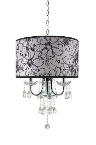 Floral design contemporary ceiling lamp