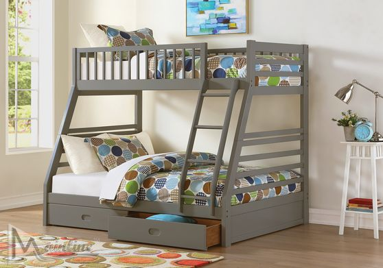 Bunk bed twin over full w/ 2 drawers