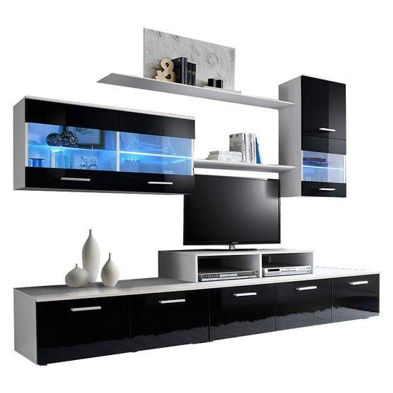 EU-made wall-unit w/ shelf and drawers