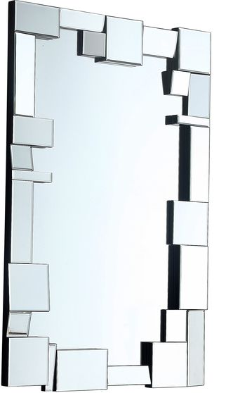 Geometric style contemporary mirror