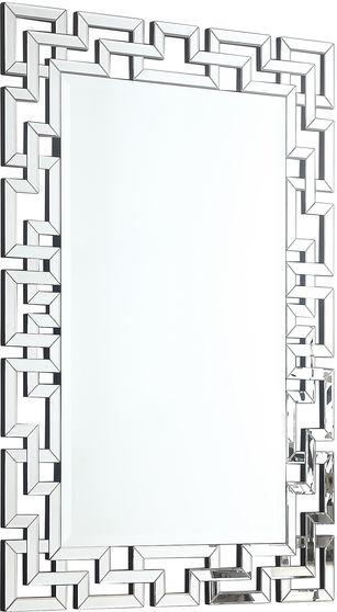 Geometric classic pattern contemporary mirror