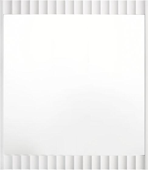 White stylish mirror