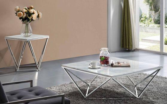 Genuine marble top design modern coffee table