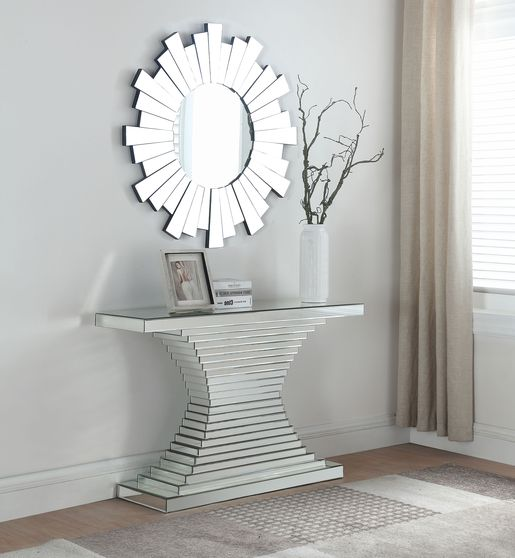 Mirrored console/display w/ optional mirror