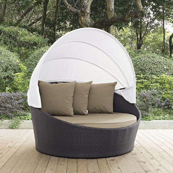 Patio canopy outdoor daybed