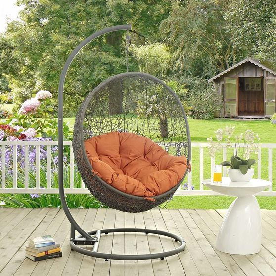 Outdoor/patio swing chair w/ stand