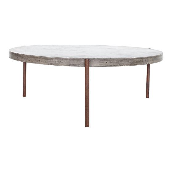 Contemporary outdoor coffee table