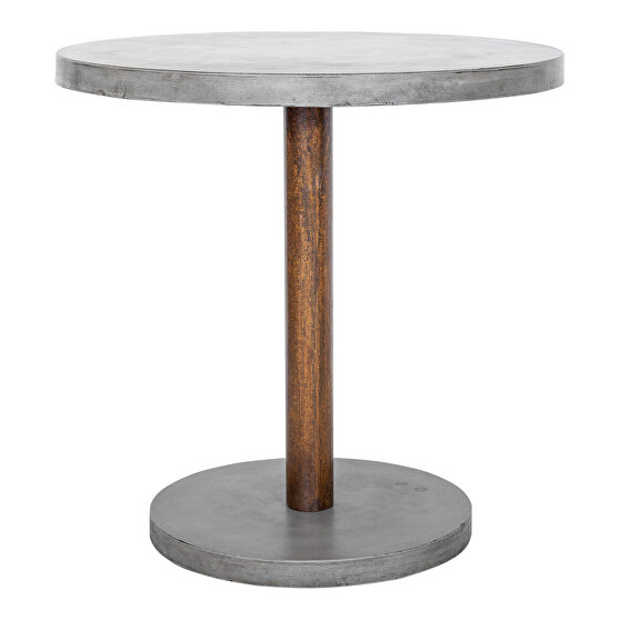 Contemporary outdoor counter height table