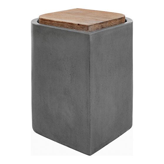 Contemporary outdoor stool