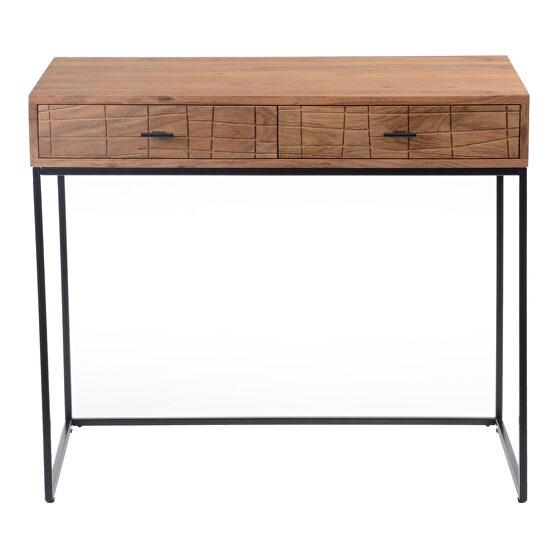 Contemporary desk natural