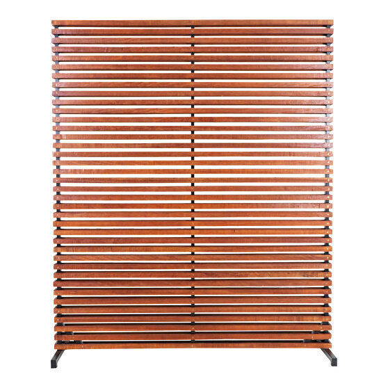 Contemporary screen brown