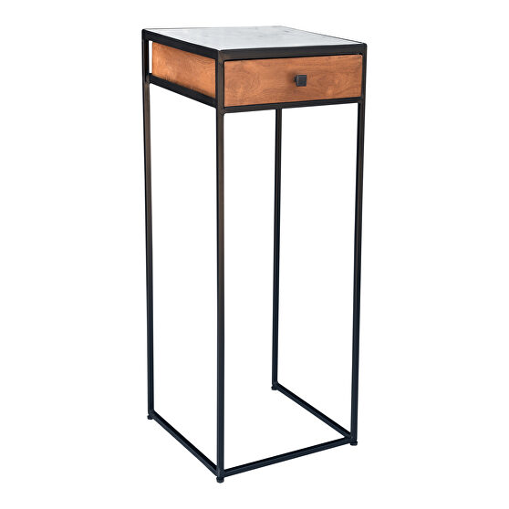 Contemporary tall accent table