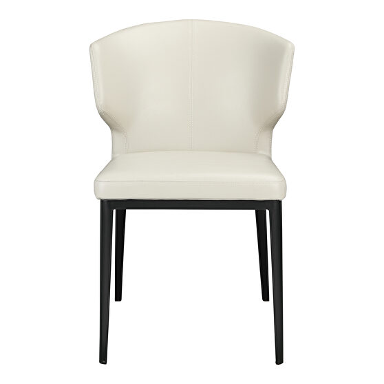 Contemporary side chair beige-m2
