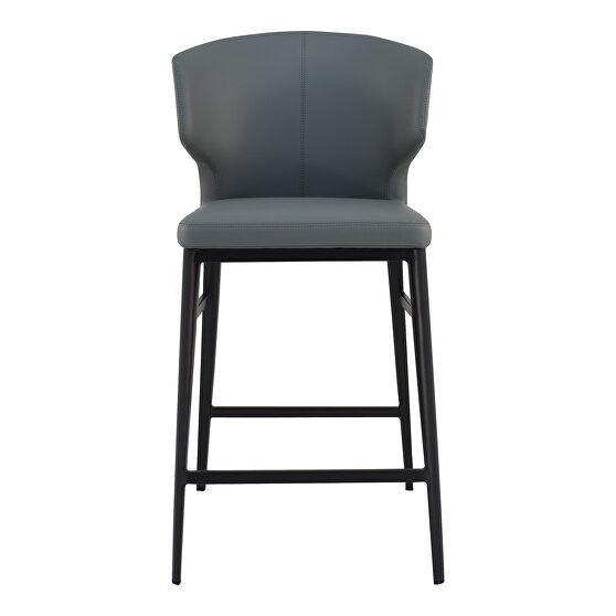 Contemporary counter stool gray
