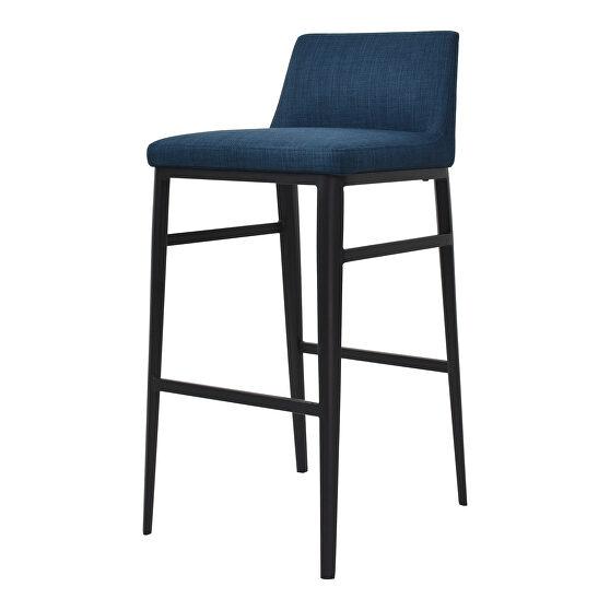 Contemporary barstool blue