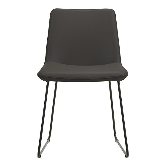 Retro dining chair black-m2