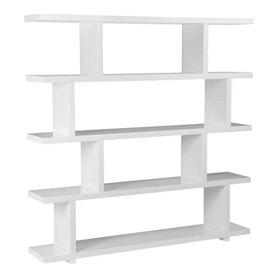 Contemporary shelf large white