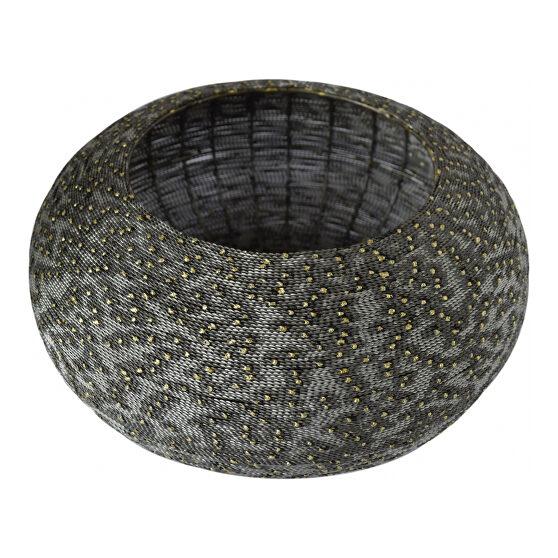 Industrial metal bowl