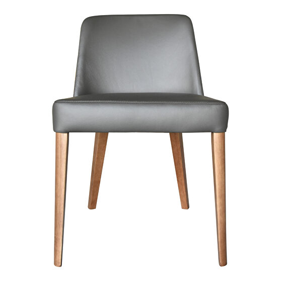 Contemporary dining chair light gray-m2