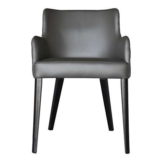 Contemporary dining chair gray