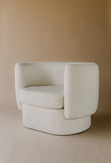 Contemporary chair maya white