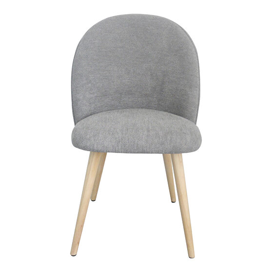 Contemporary dining chair gray-m2