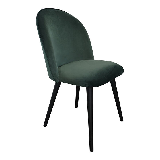 Contemporary dining chair green-m2