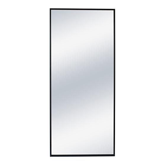 Contemporary mirror black