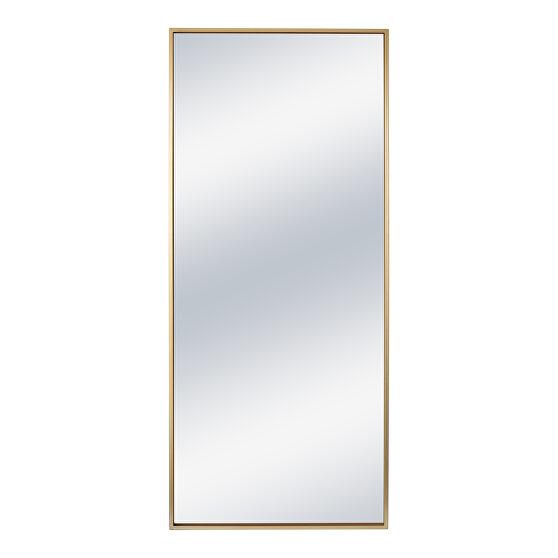 Contemporary mirror gold