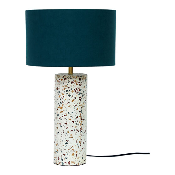Retro cylinder table lamp